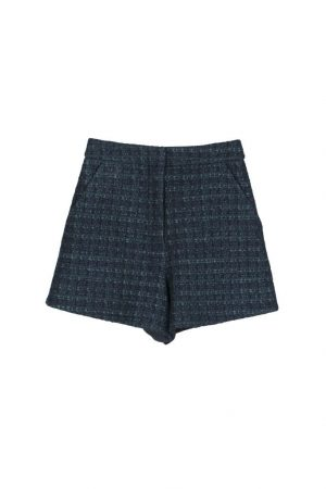 Green LUPU high-waisted shorts
