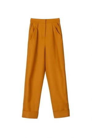 Sandstone Brown Rip-Off College Pants