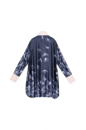 Stitch Look Long-Sleeved Shirt