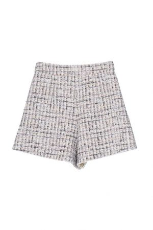 Pink LUPU High-Waisted Shorts