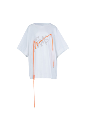 Oversized Drawstring T-Shirt