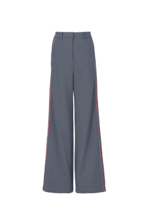 Knitted Straight-Leg Trousers