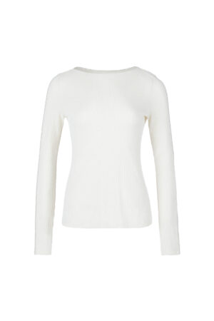 Straight collar sweater