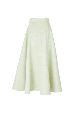 Light grass green skirt