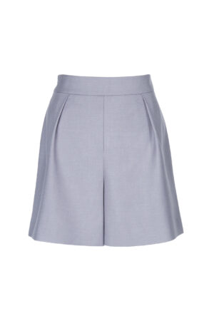Tranquil Gray Mid-rise Shorts